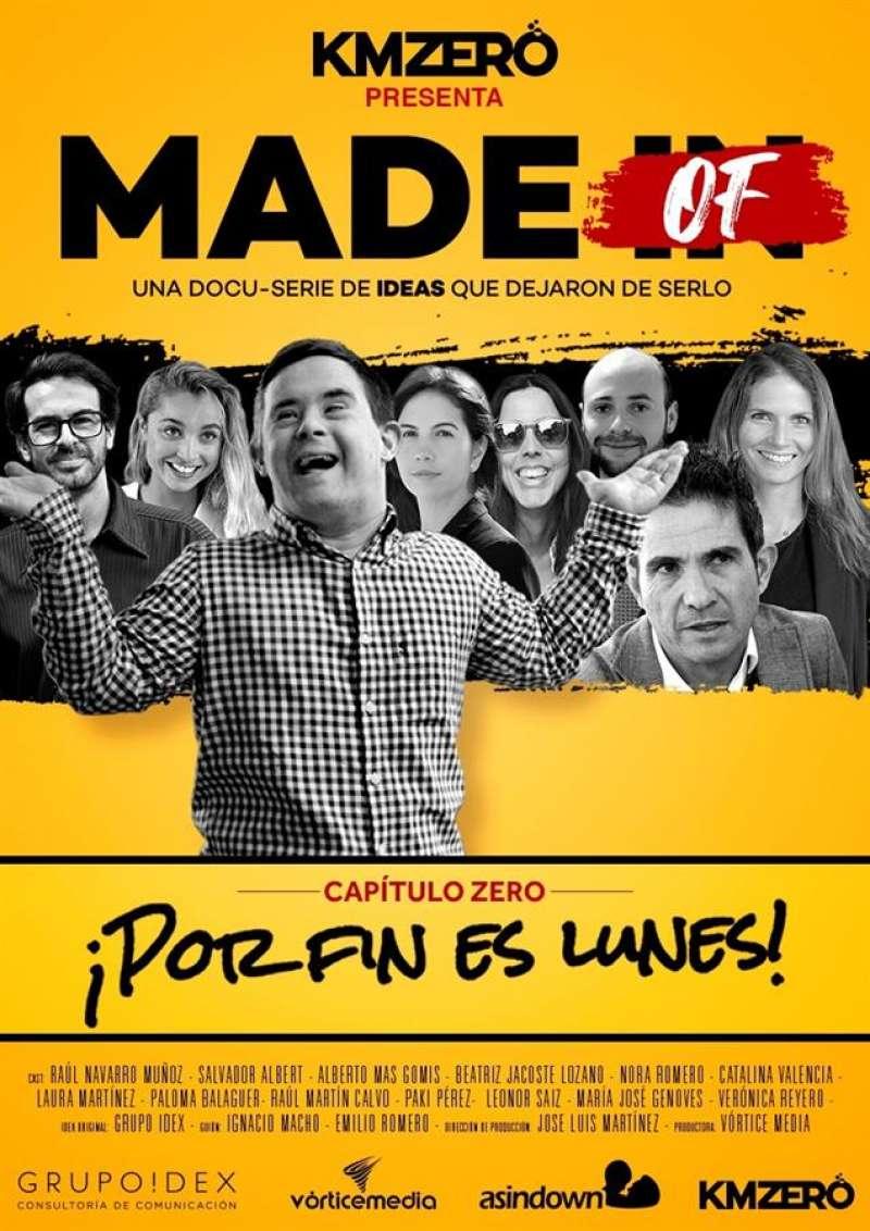 Cartel de la serie documental impulsada por KM ZERO Food Innovation Hub. EFE