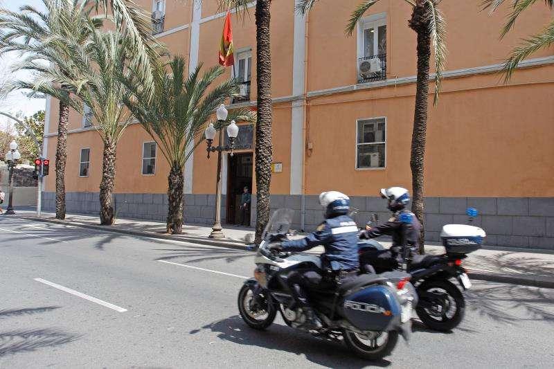 Agentes de la Policía Nacional.EFE ARCHIVO