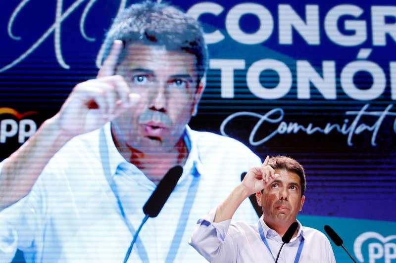 El recién elegido presidente del PP CV, Carlos Mazón. EFE