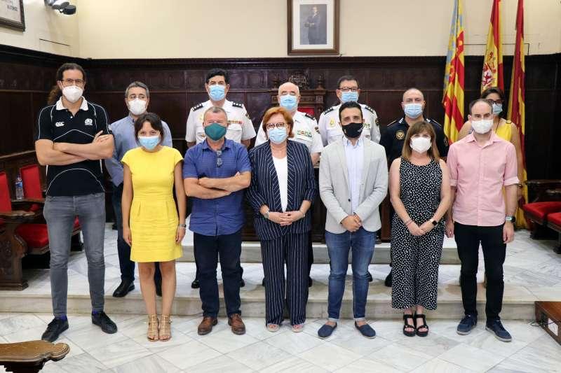 Visita de la delegada del Gobierno en la Comunitat Valenciana, Gloria Calero. EPDA