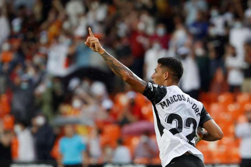 El delantero brasileño del Valencia Marcos André. EFE