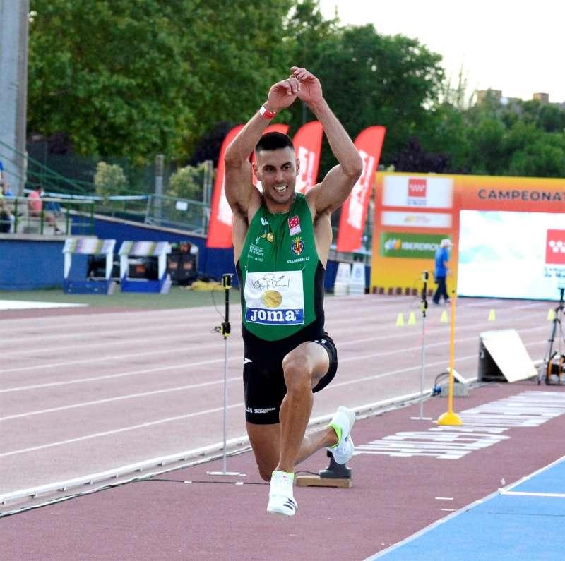 El atleta Pablo Torrijos será uno de los representantes castellonenses en los Juegos Olímpicos. EFE
