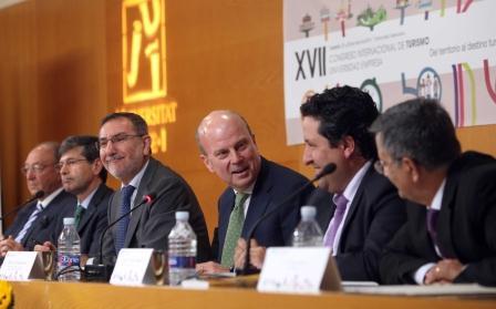 Inauguración XVII Congreso Internacional de Turismo Universidad-Empresa organizado por la Fundación Universidad Empresa-UJI.