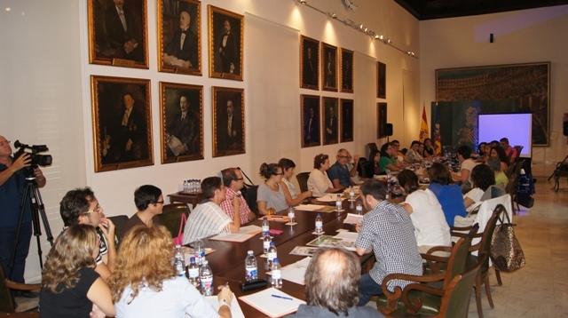 Reunión de técnicos en la Diputación. FOTO: DIVAL