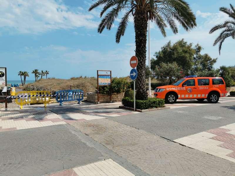 Imagen de la playa de Canet d