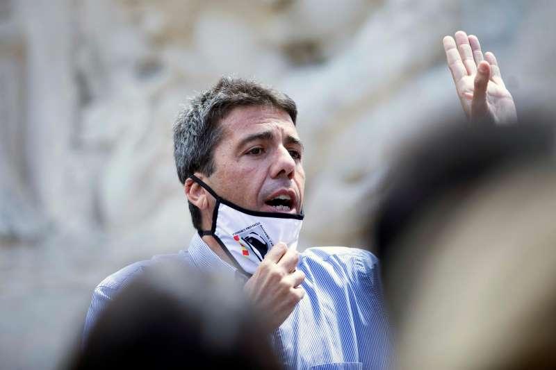 El presidente de la Diputación de Alicante, Carlos Mazón.EFE/ Doménech Castelló/Archivo