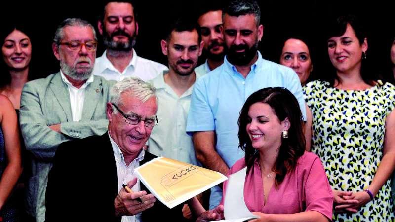 Acurdo de gobierno en Valencia. EPDA