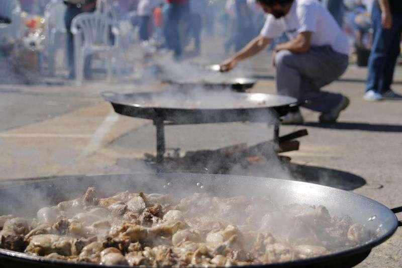 Festival de paellas en València. EFE/Archivo