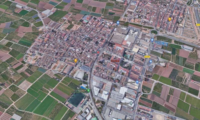 Localidad de Foios.