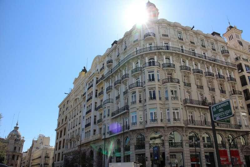 Imagen del cielo despejado en València. EPDA