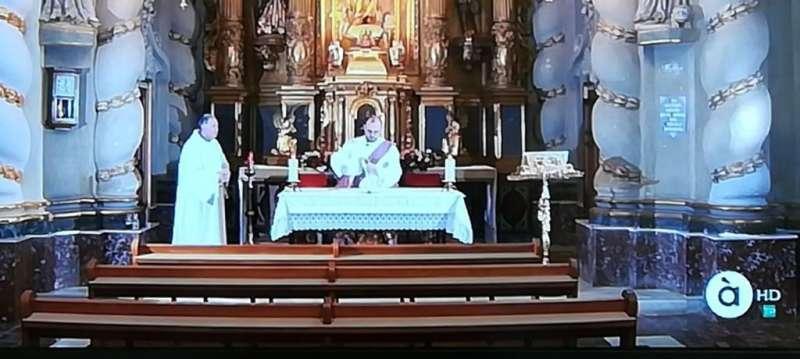 Una misa de À Punt. EPDA