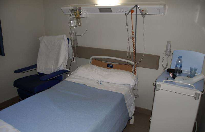 Cama de un hospital. EPDA/Archivo