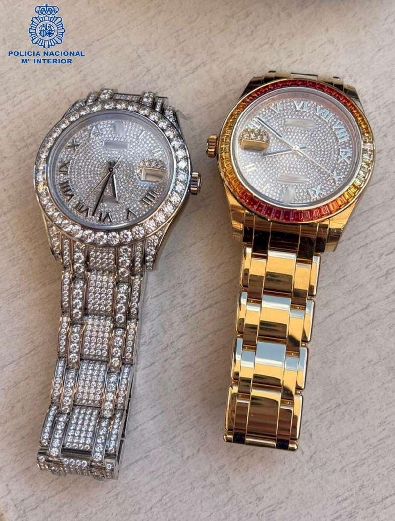 Relojes robados/EPDA