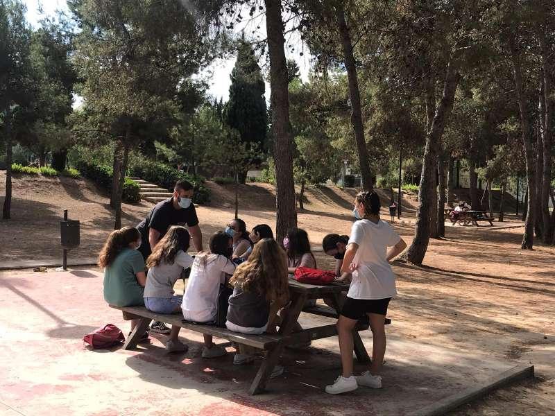 Jóvenes en las actividades/EPDA