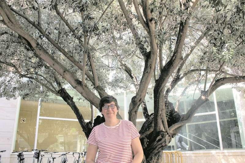 Pilar Lima, en les Corts Valencianes. EPDA
