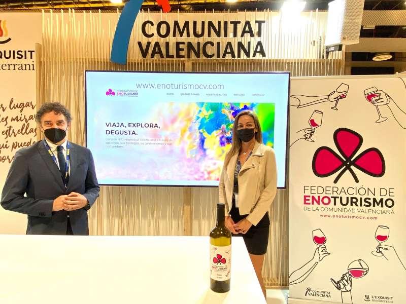 Francesc Colomer y María Miñano
