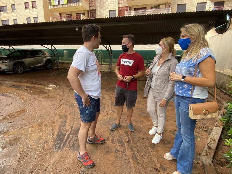 Marta Barrachina visita Benicàssim/EPDA