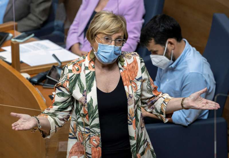 Ana Barceló en Les Corts. EPDA.