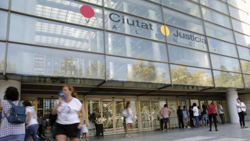 Imagen de la Ciudad de la Justicia de Valencia.