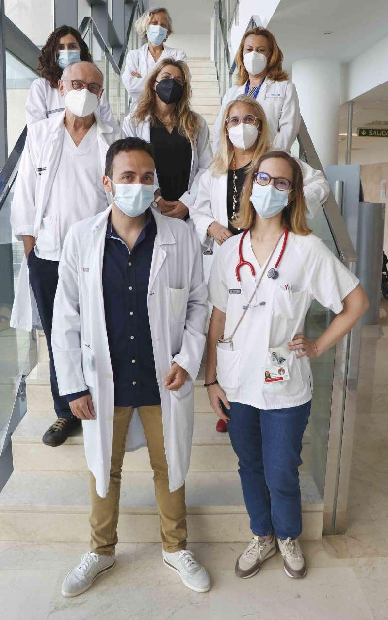 Equipo de neuropediatría del Hospital La Fe de Valencia.