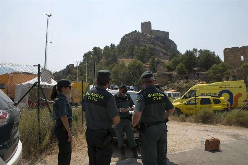 Imagen de archivo de un dispositivo de búsqueda de la Guardia Civil / EFE