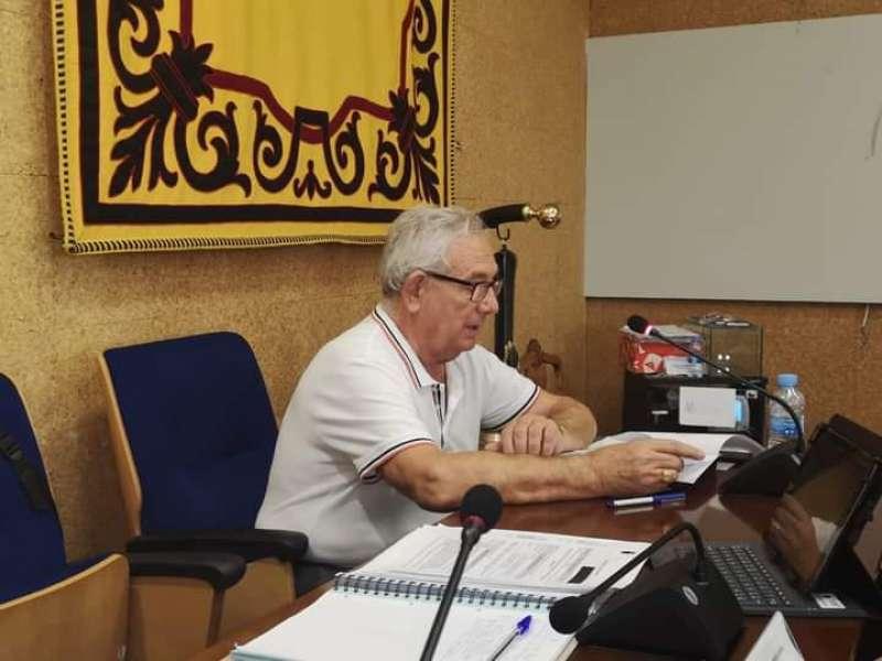 El edil de Benicàssim José Carlos García Sampayo. EPDA