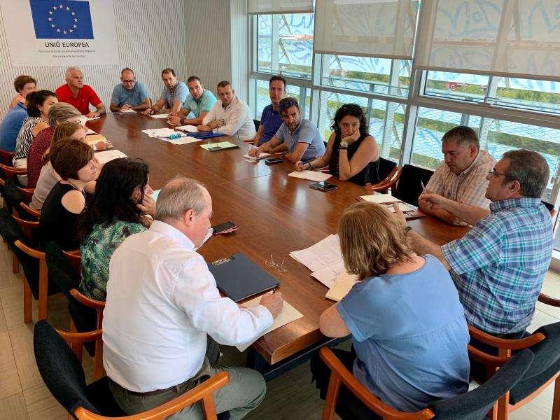 Reunión de la comisión. EPDA