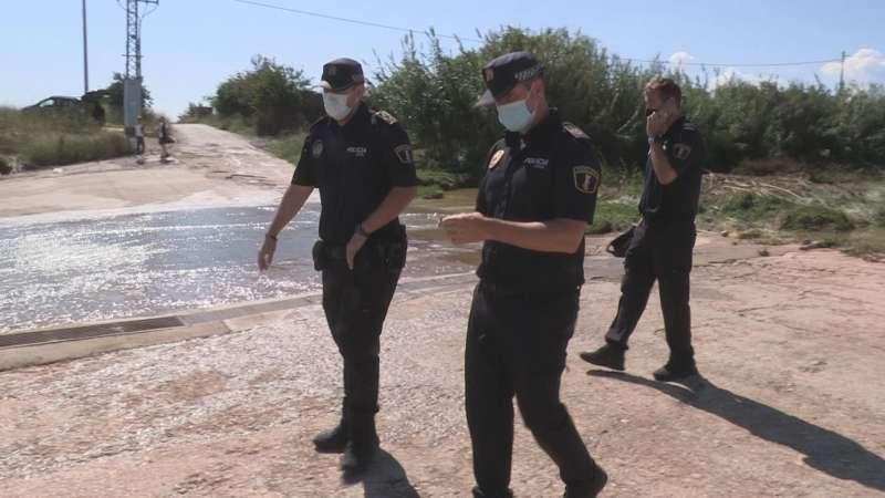 Tres agentes de la Policía Local de Cheste
