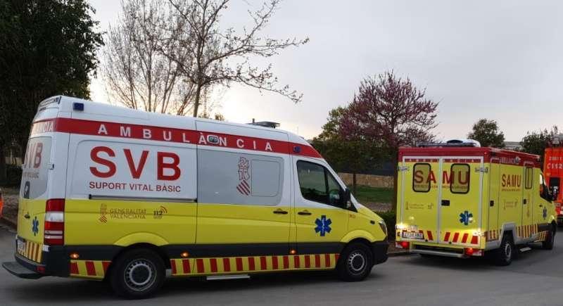 Ambulancias, en una imagen de archivo