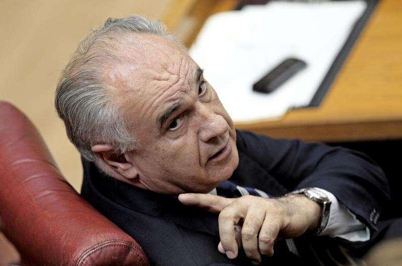 El exconseller Rafael Blasco, en un pleno de Les Corts Valencianes. EFE/Archivo