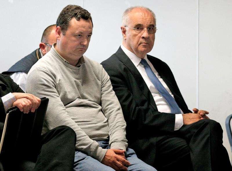 El exconseller Blasco (d) y Augusto César Tauroni (i). EFE/Archivo