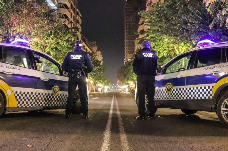 Control policial durante el confinamiento