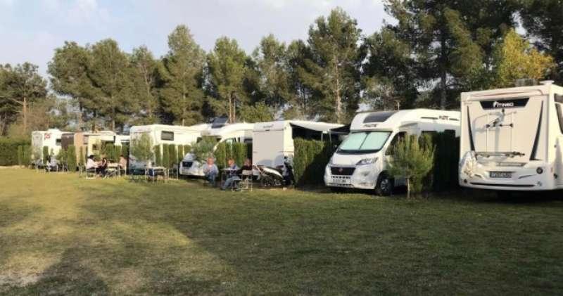 Parque de caravanas.