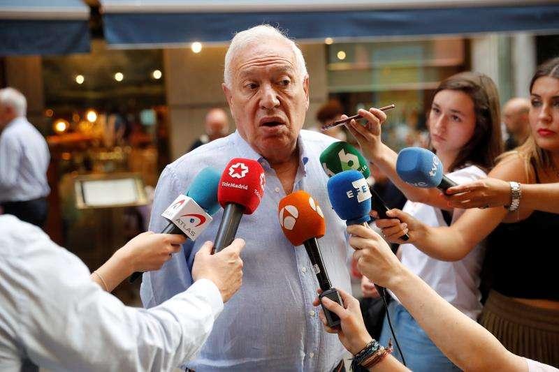 El candidato del PP a las elecciones europeas y exministro de Asuntos Exteriores, José Manuel García-Margallo. EFE/Archivo