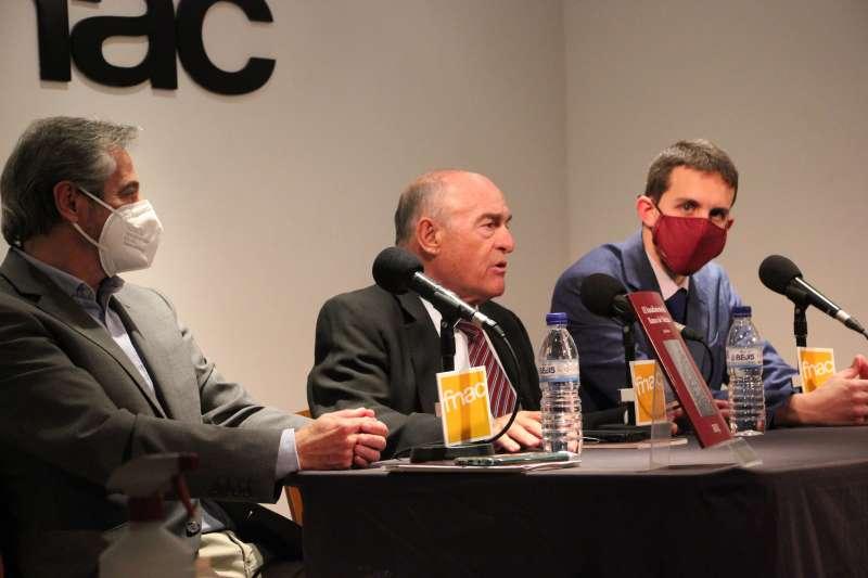 Presentación del libro de Juan Broseta ayer en FNAC.