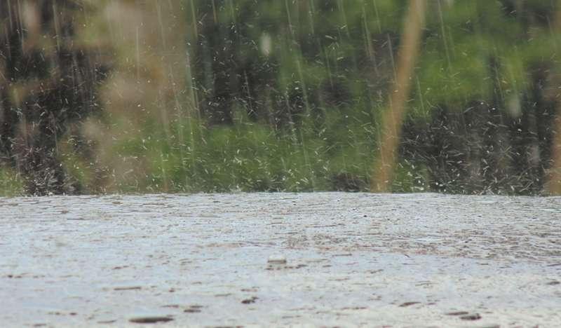 Imagen de archivo de lluvias intensas