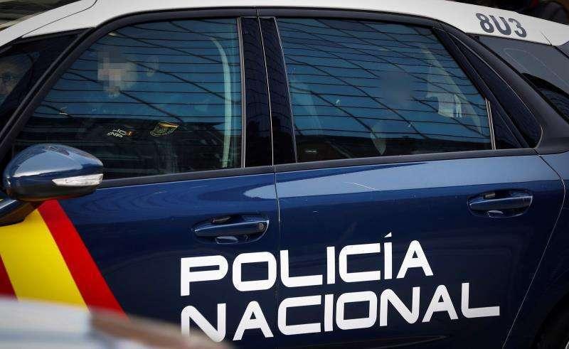 Vehículo de la Policía Nacional. EPDA