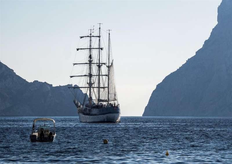 Imagen del buque cedida por el Oceanogràfic