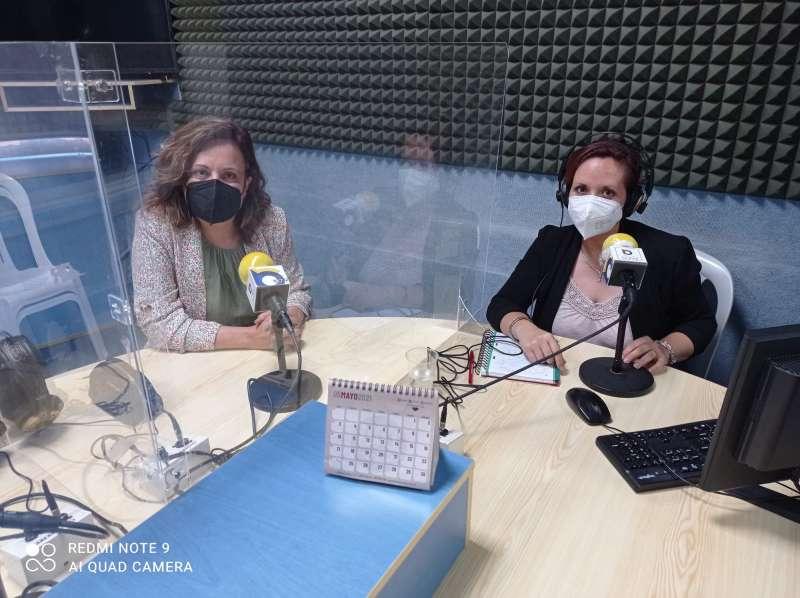 Rosario Pardo y Pilar Criado