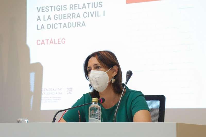 La consellera de Calidad Democrática, Rosa Pérez Garijo, en una imagen facilitada por la Generalitat Valenciana. EPDA