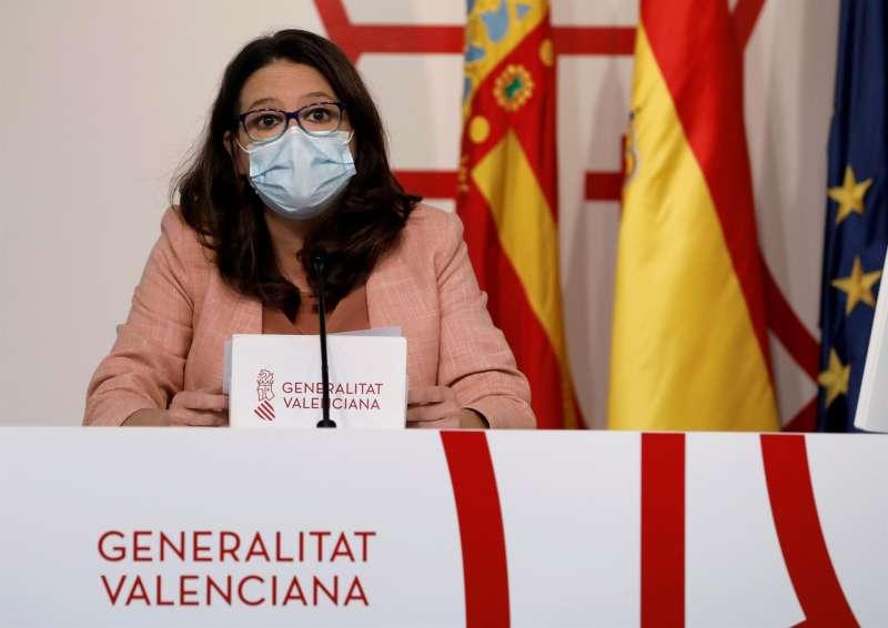 La vicepresidenta y consellera de Igualdad, Mónica Oltra.