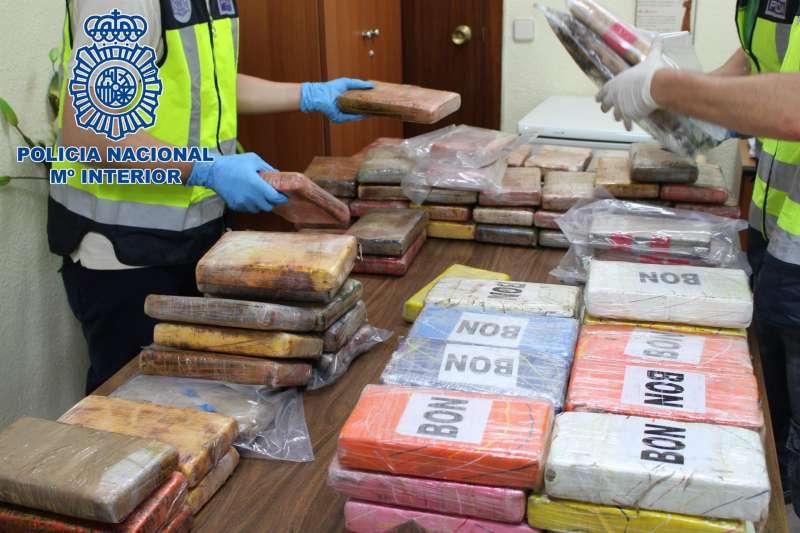 Imagen de una operaci�n policial./ Polic�a Nacional