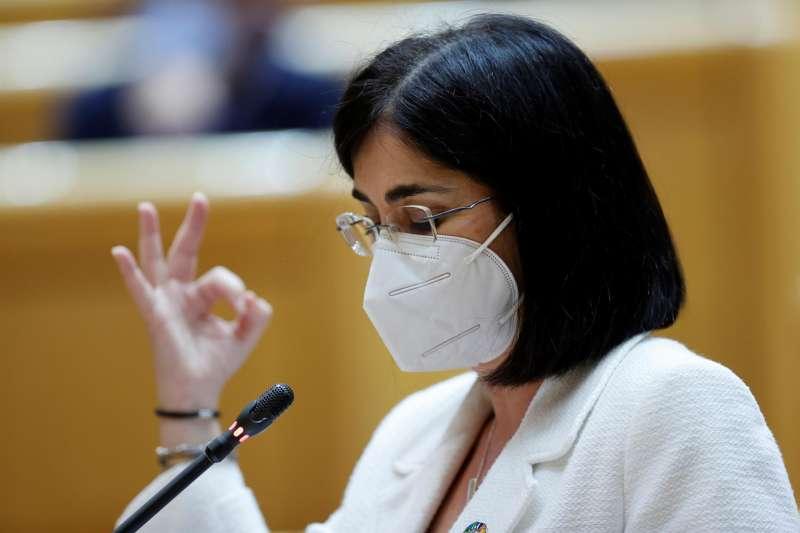 La ministra de Sanidad, Carolina Darías. EFE/Zipi/Archivo