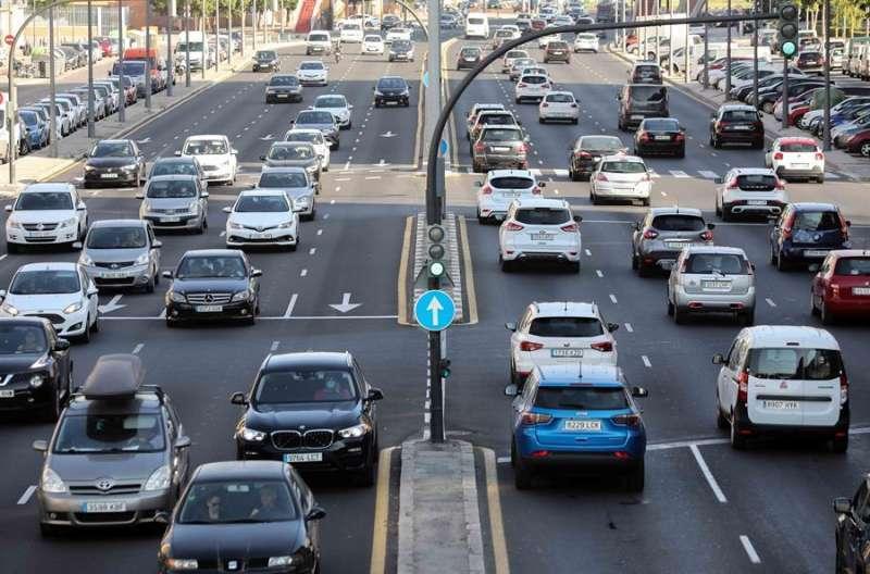 Tráfico en València. EPDA