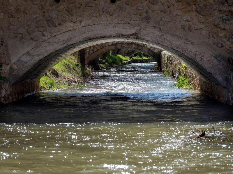 Curso del río Júcar. Archivo/ EFE/José del Olmo