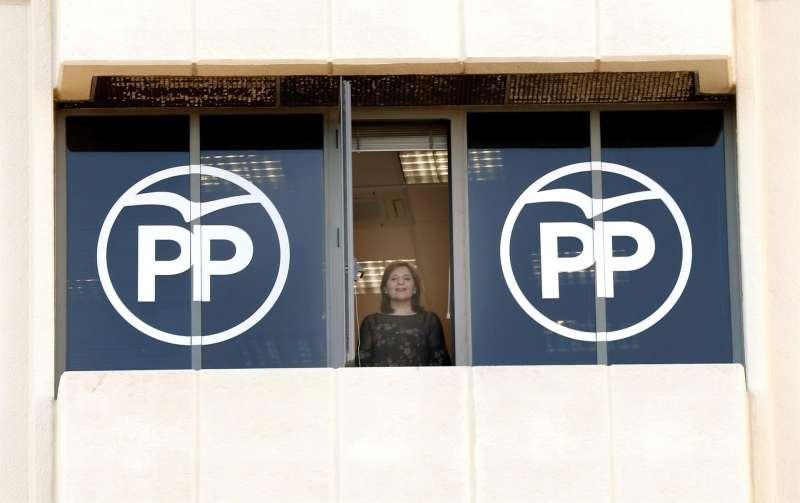 La presidenta del PP de la Comunitat Valenciana, Isabel Bonig, en una imagen de archivo
