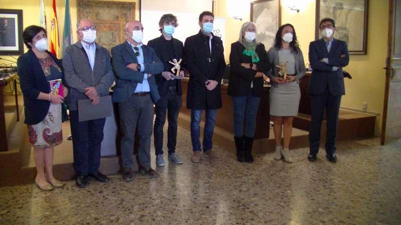 Entrega de premios de la edición pasada del certamen