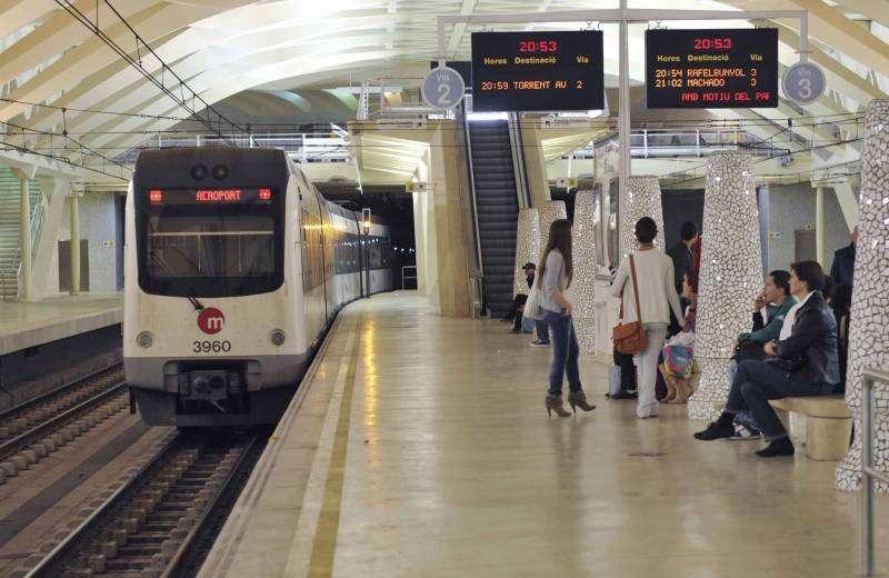 Interior del metro. EPDA.
