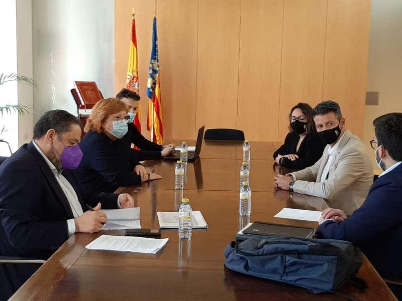 Reunió Delegació del Govern./EPDA