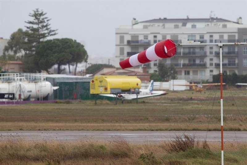Vista general del Aeródromo de Castellón en un día de viento. EFE/Domenech Castelló/Archivo